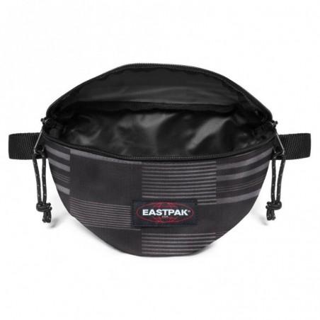 Pochette ceinture banane Eastpak EK074 35T motif noir gris