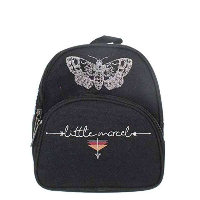 Petit sac à dos Little Marcel Papillon et déco ethnique 1 compartiment