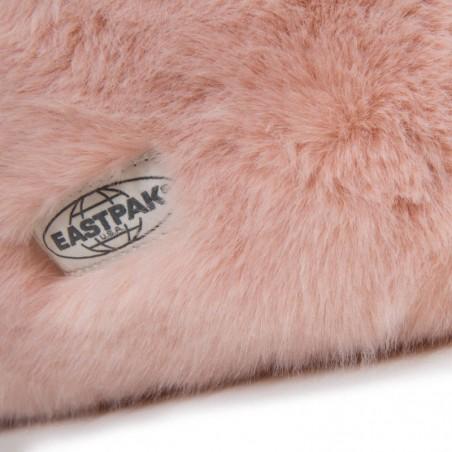 Sac à dos rose poudré effet fourrure Eastpak Padded Pak'r EK620 10U Pink Fur