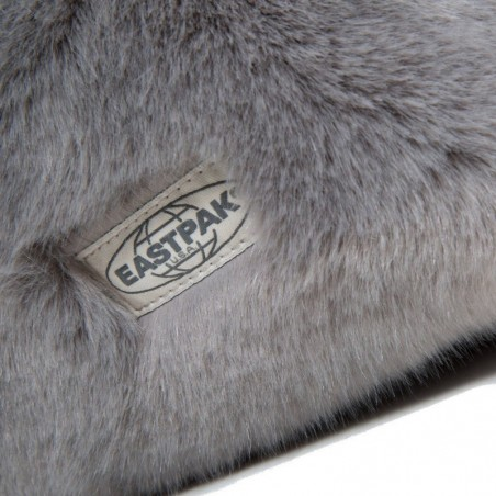 Sac à dos gris fourrure Eastpak Padded Pak'r EK620 11U Grey Fur