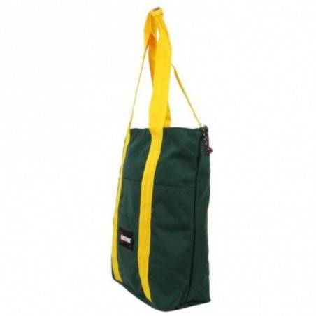 Sac cabas Eastpak Shopper EK527 San Diego  bi-couleur uni vert et jaune