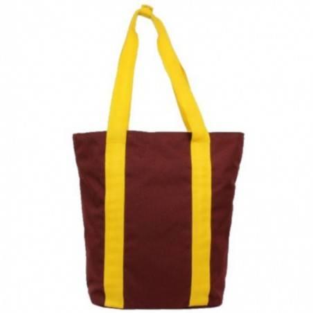 Sac cabas Eastpak Shopper EK527 San Diego uni bordeaux et jaune