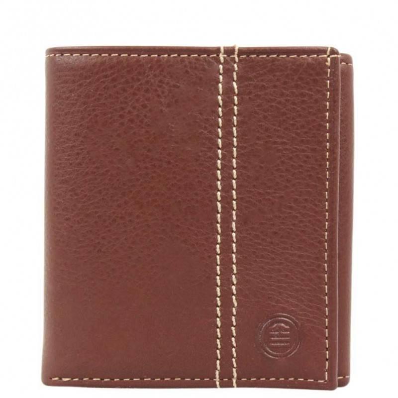 Porte monnaie cartes en cuir grain Serge Blanco ARLINGTON SERGE BLANCO - 1