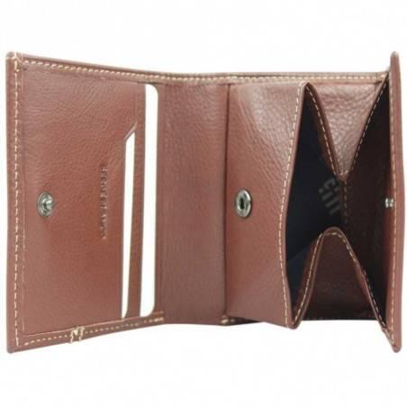 Porte monnaie cartes en cuir grain Serge Blanco ARLINGTON SERGE BLANCO - 2