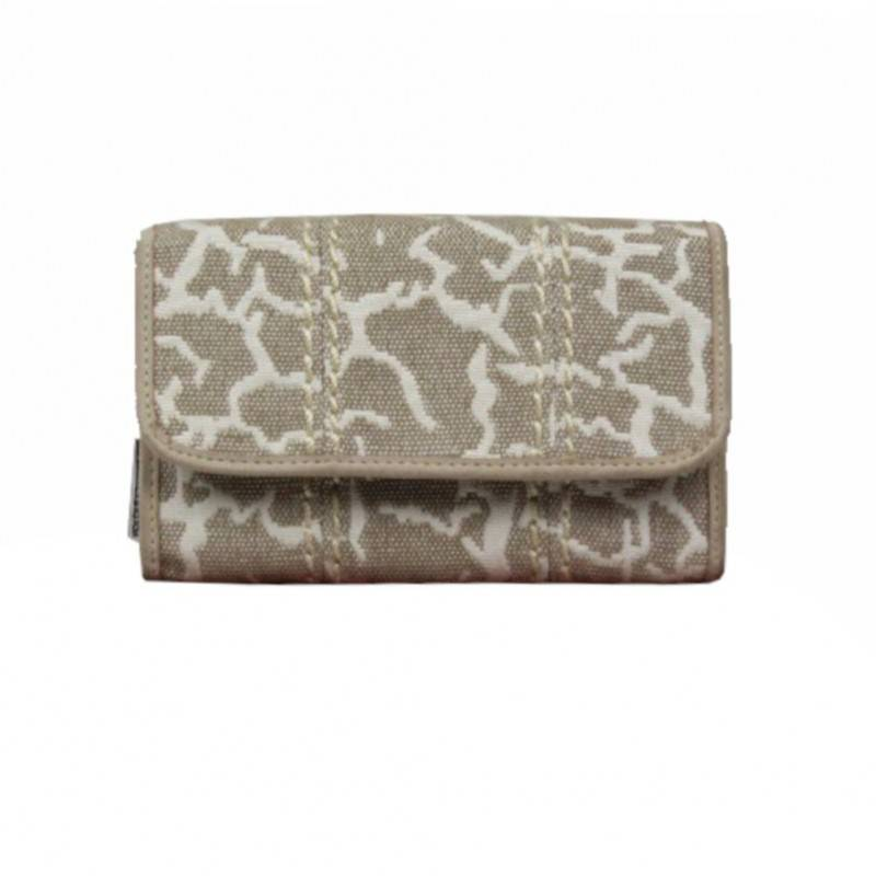 "Porte monnaie toile beige ""naturel"" Arthur et Aston 8013-557 ARTHUR & ASTON - 1"