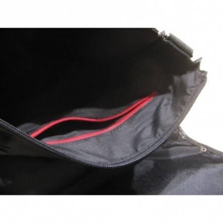 Sac pochette gibecière à grand rabas de marque Lévi's noir LEVI'S - 2