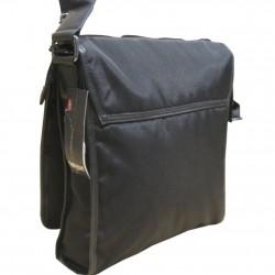 Sac pochette gibecière à grand rabas de marque Lévi's noir LEVI'S - 3