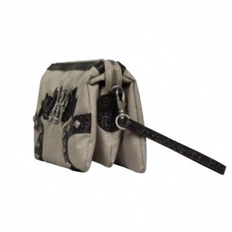 Petit sac pochette poignée DDP Toile DDP - 3