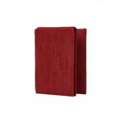 Porte cartes cuir nubuck imprimé Arthur et Aston 7035-992 ARTHUR & ASTON - 1