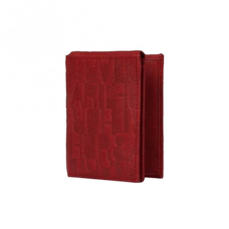 Porte cartes cuir motif imprimé Arthur et Aston 7035-992 ARTHUR & ASTON - 1