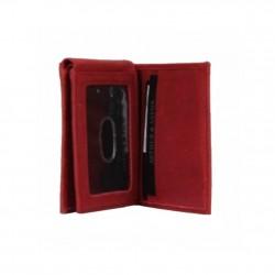 Porte cartes cuir nubuck imprimé Arthur et Aston 7035-992 ARTHUR & ASTON - 2