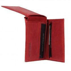 Porte cartes cuir nubuck imprimé Arthur et Aston 7035-992 ARTHUR & ASTON - 3