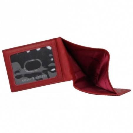 Porte cartes cuir nubuck imprimé Arthur et Aston 7035-992 ARTHUR & ASTON - 4