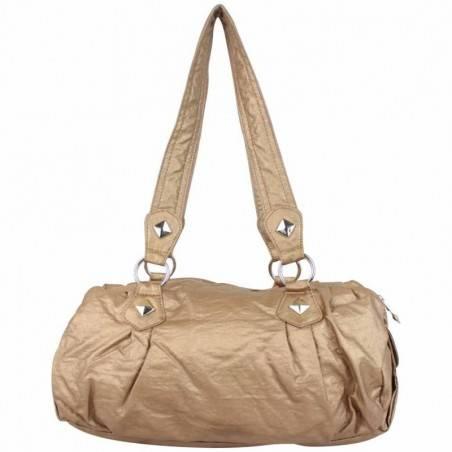 Sac porté épaule bowling toile froissée Kaporal KAY 25067  KAPORAL - 1