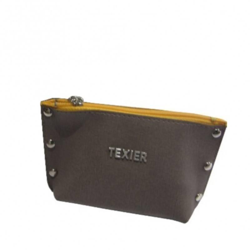 Porte monnaie Texier Studbags cuir Fabrication France 26180 TEXIER - 1