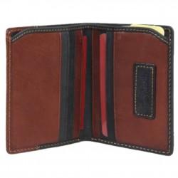 Petit porte cartes cuir effet peau de pêche Tony Perotti G1034 Tony PEROTTI - 2