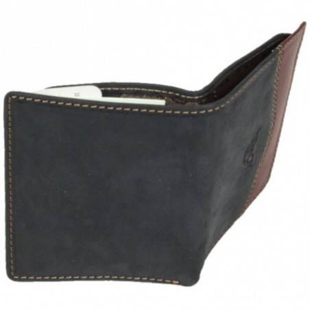 Petit portefeuille porte monnaie et porte cartes cuir vintage Tony Perotti Tony PEROTTI - 3