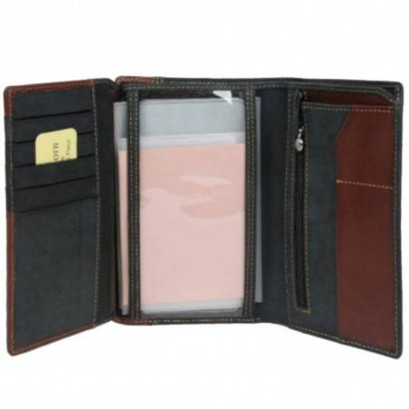 Grand portefeuille cuir effet brut Tony Perotti G Tony PEROTTI - 3