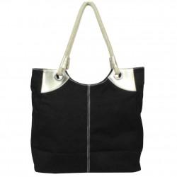 Grand sac cabas porté épaule toile à motifs 6795 A DÉCOUVRIR ! - 4