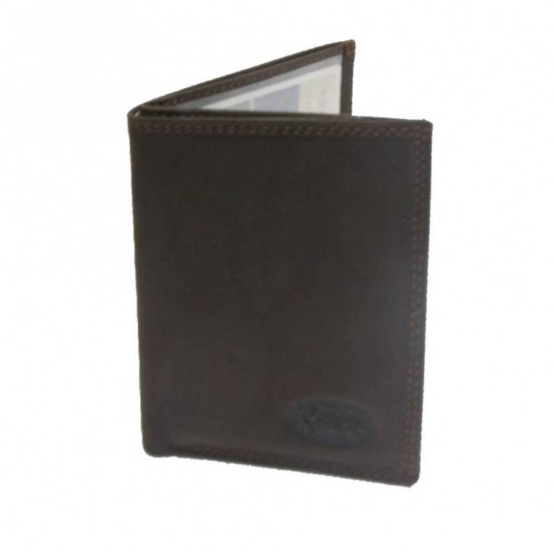 Petit porte papiers et cartes en cuir et tendance A DÉCOUVRIR ! - 1