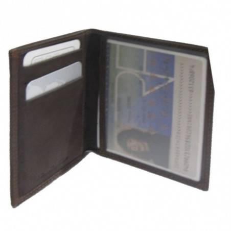 Petit porte papiers et cartes pas cher en cuir et tendance A DÉCOUVRIR ! - 2