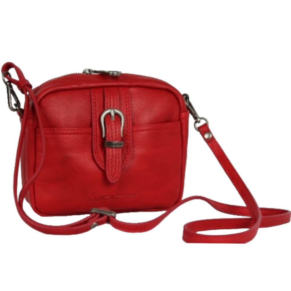 Petit sac bandoulière cuir Lancaster 578-01 LANCASTER - 1