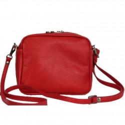 Petit sac bandoulière cuir Lancaster 578-01 LANCASTER - 3