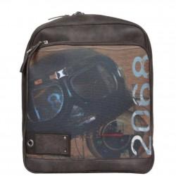 Le sac à dos Multi-poches marron Patrick Blanc  PATRICK BLANC - 1