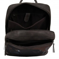 Le sac à dos Multi-poches marron Patrick Blanc  PATRICK BLANC - 2