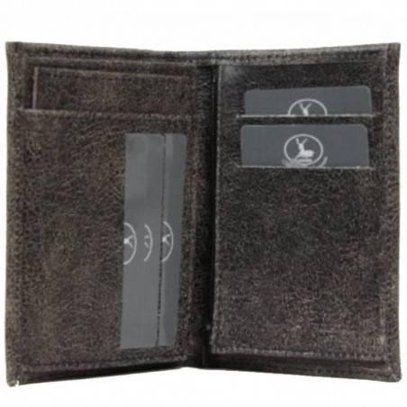 Petit portefeuille fabrication France en cuir FRANDI - 2