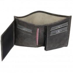 Petit portefeuille fabrication France en cuir FRANDI - 4