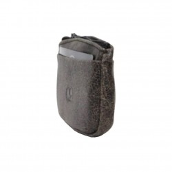 Porte monnaie plat pas cher fabrication en cuir et Française 15031 / 5262 FRANDI - 2