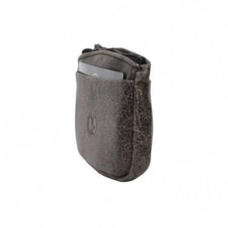 Porte monnaie plat fabrication France cuir 15031 / 5262 FRANDI - 2