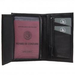 Portefeuille cuir fabrication Française cuir 01265 / 5265 Nouvelty  FRANDI - 2