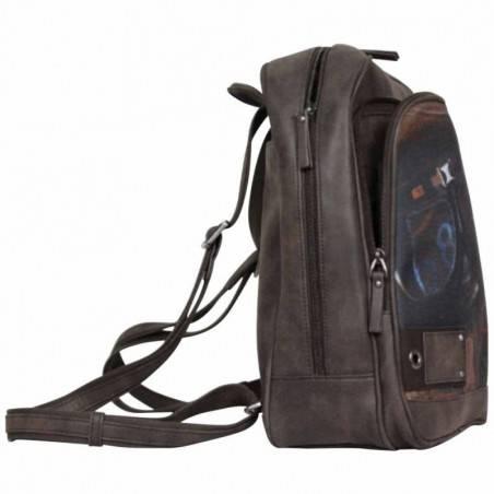 Le sac à dos Multi-poches marron Patrick Blanc  PATRICK BLANC - 3