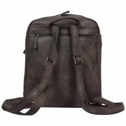 Le sac à dos Multi-poches marron Patrick Blanc  PATRICK BLANC - 4