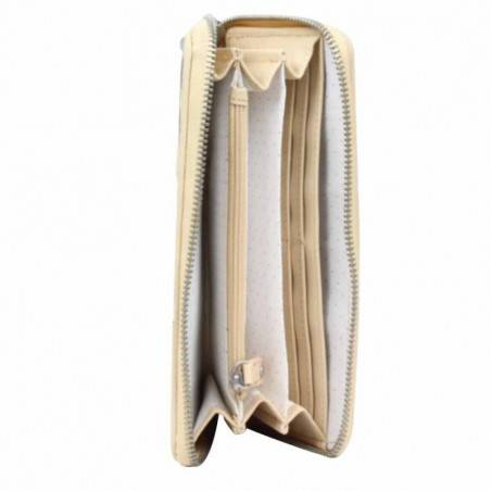 Grand porte monnaie tout en un beige zèbre Les Petites Bombes S149303 Les p'tites Bombes - 4