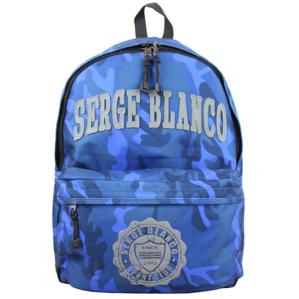 Sac à dos Serge Blanco Le Quinze de France bleu SERGE BLANCO - 1