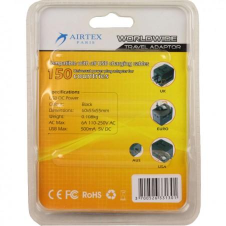 copy of Adaptateur universel avec ports USB Delsey A DÉCOUVRIR ! - 2