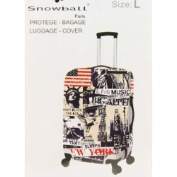 copy of Housse pour valise L avec design motif Bus Anglais A DÉCOUVRIR ! - 2