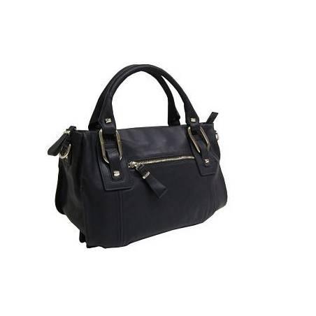 Le sac à main Arthur et aston en cuir de vachette souple mais avec une bonne tenu ARTHUR & ASTON - 2