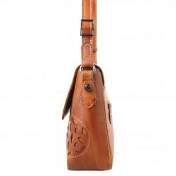 Sac à rabat Arthur et Aston cuir vintage Dicky teinté main ARTHUR & ASTON - 18