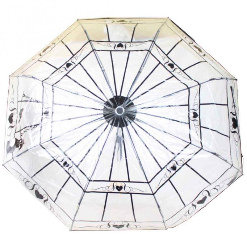 copy of Parapluie pliant ouverture / fermeture Les Tropéziennes Noir LOLLIPOPS - 1