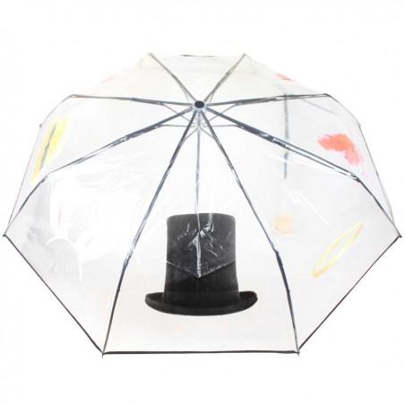 copy of Parapluie pliant ouverture / fermeture Les Tropéziennes Noir LOLLIPOPS - 2