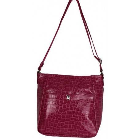 Petit sac bandoulière Lancaster style croco LANCASTER - 5
