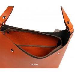 Sac seau cuir Texier fabrication France Studbags 26110 TEXIER - 3