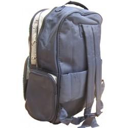 Le sac à dos enfant pas cher avec voiture de course de couleur bleu rouge et blanc A DÉCOUVRIR ! - 3