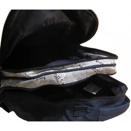 Le sac à dos enfant pas cher avec voiture de course de couleur bleu rouge et blanc A DÉCOUVRIR ! - 2