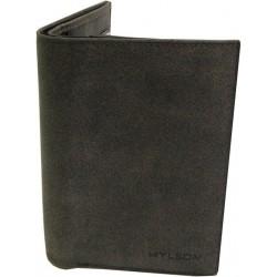 Petit portefeuille en cuir de marque Fuchsia FUCHSIA - 5