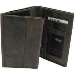 Petit portefeuille cuir de marque Fuchsia FUCHSIA - 3